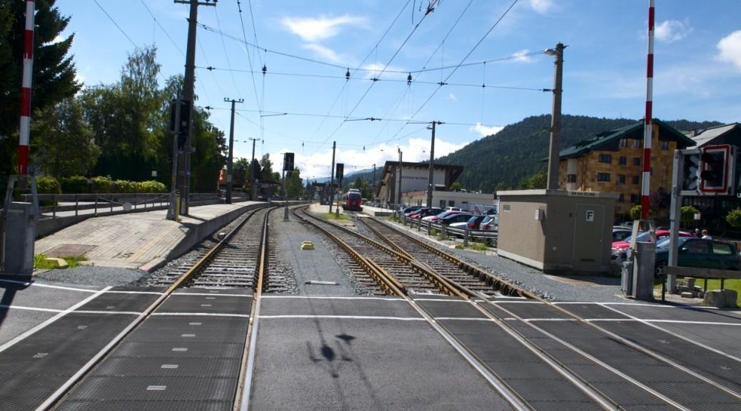 Bahnhof Seefeld in Österreich